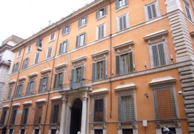 6 Aprile Roma – Palazzo Giustiniani