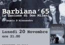 FAENZA: BARBIANA 1965 – LA LEZIONE DI DON MILANI