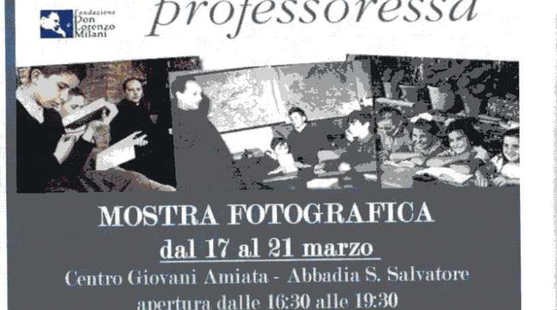 Progetto I CARE AGAIN – Abbadia San Salvatore -SI-