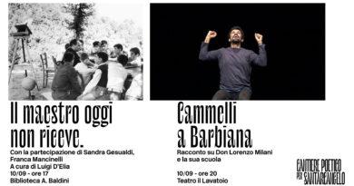 10 settembre, Sant'Arcangelo di Romagna – Il maestro oggi non riceve